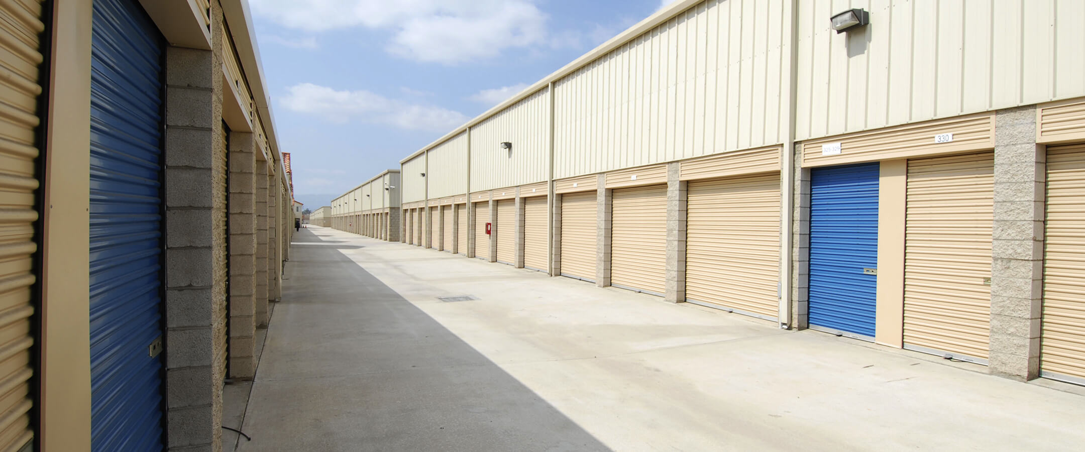 This is a photo of the storage unit interior.